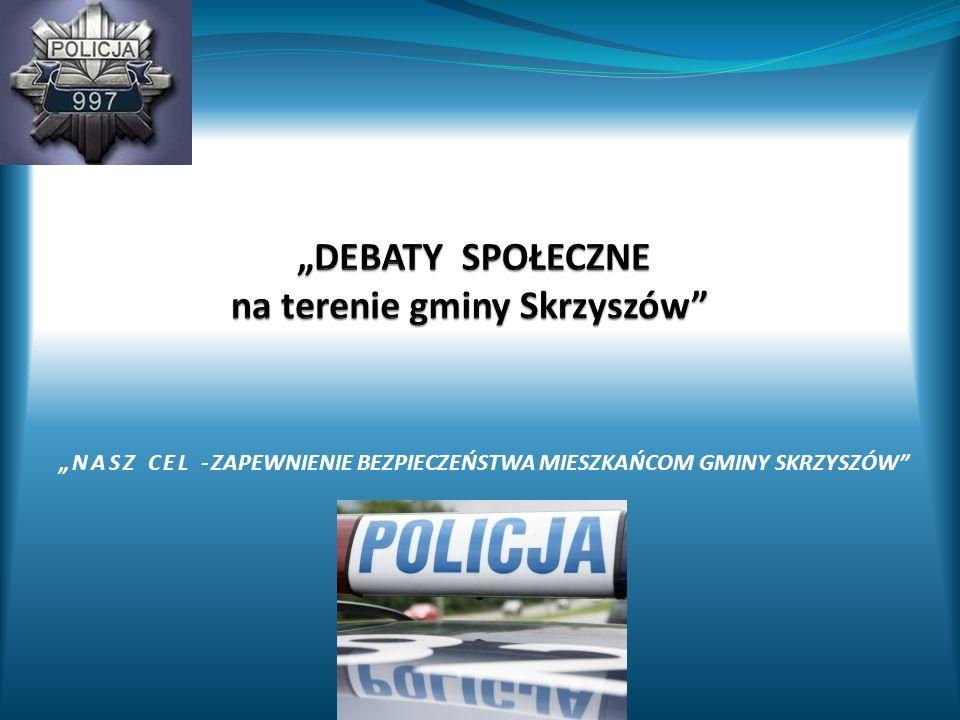 """""""DEBATY SPOŁECZNE na terenie gminy Skrzyszów"""