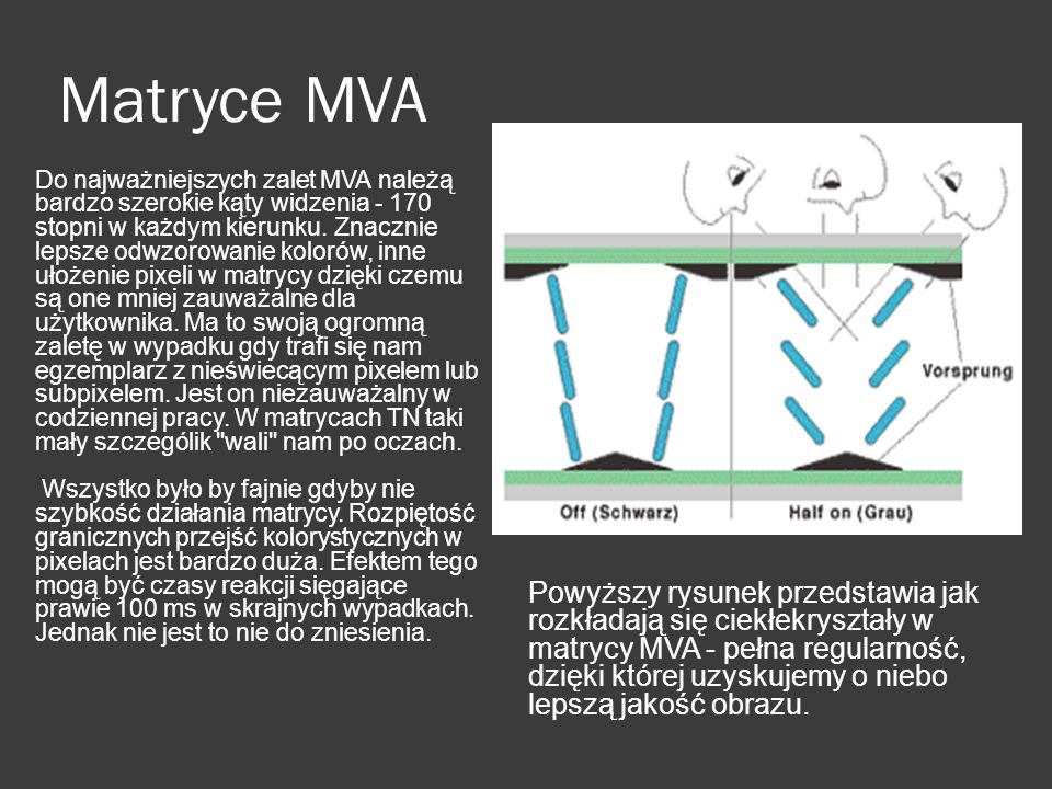 Matryce MVA