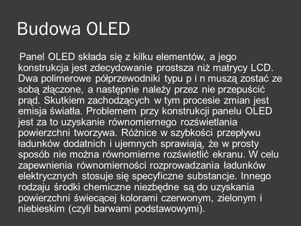 Budowa OLED