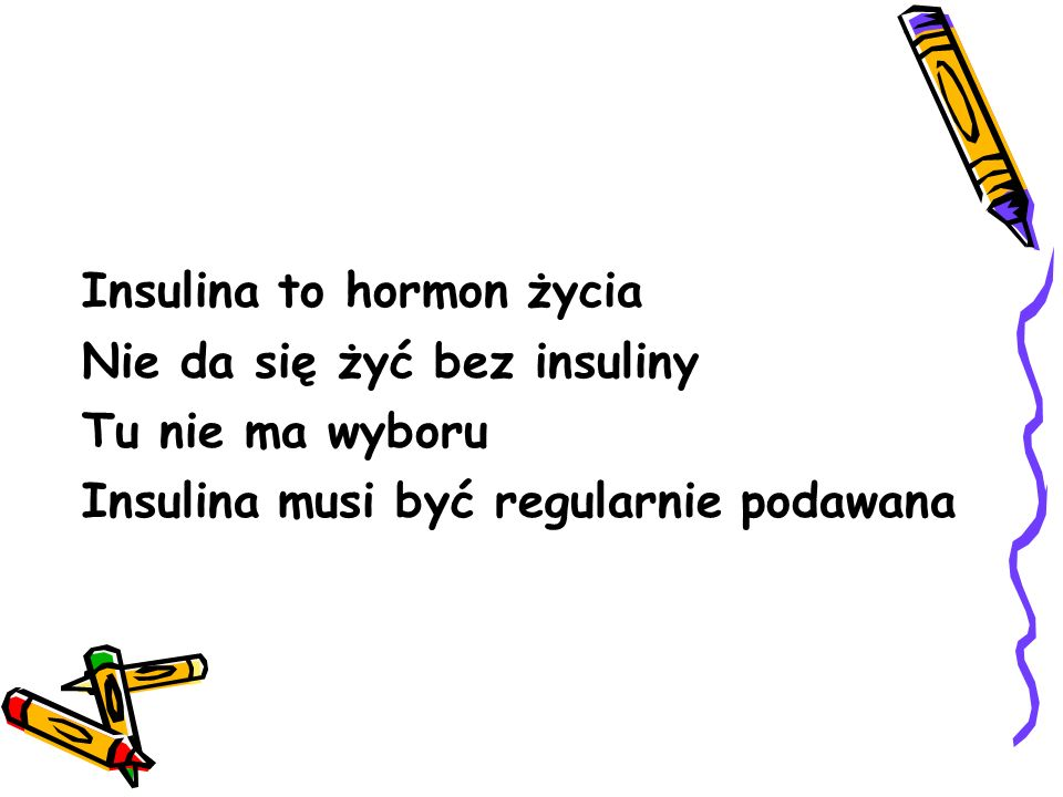 Insulina to hormon życia