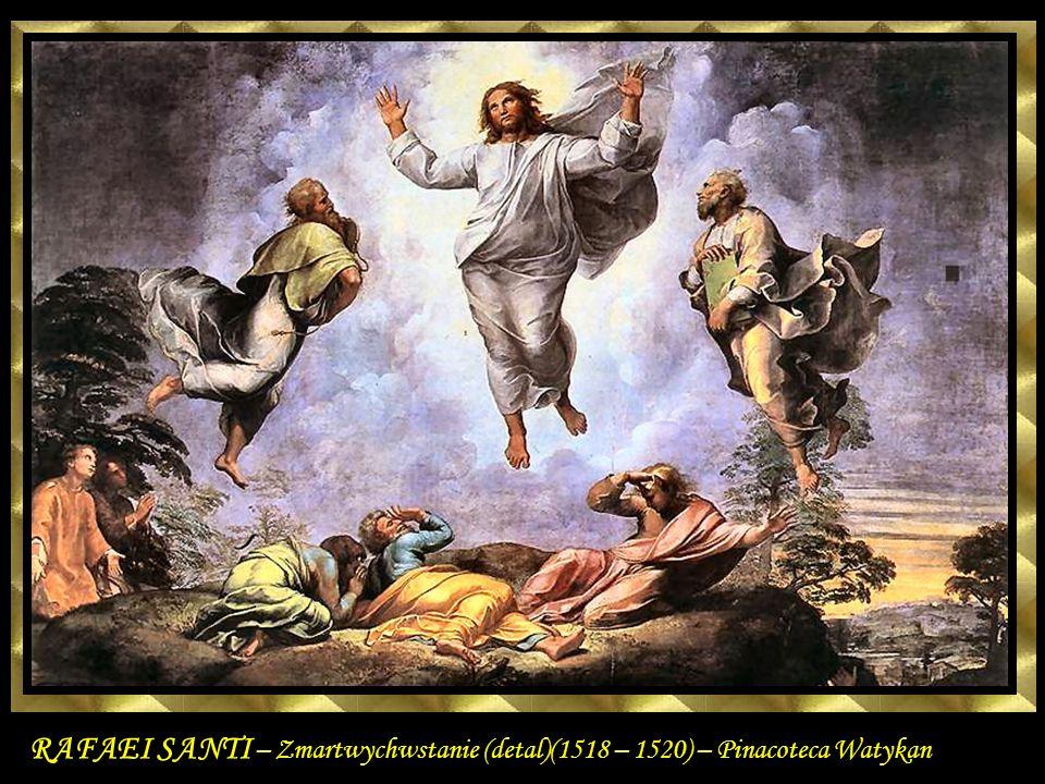 The Transfiguration (detail) 1518-20 Oil on wood Pinacoteca, Vatican Rafael