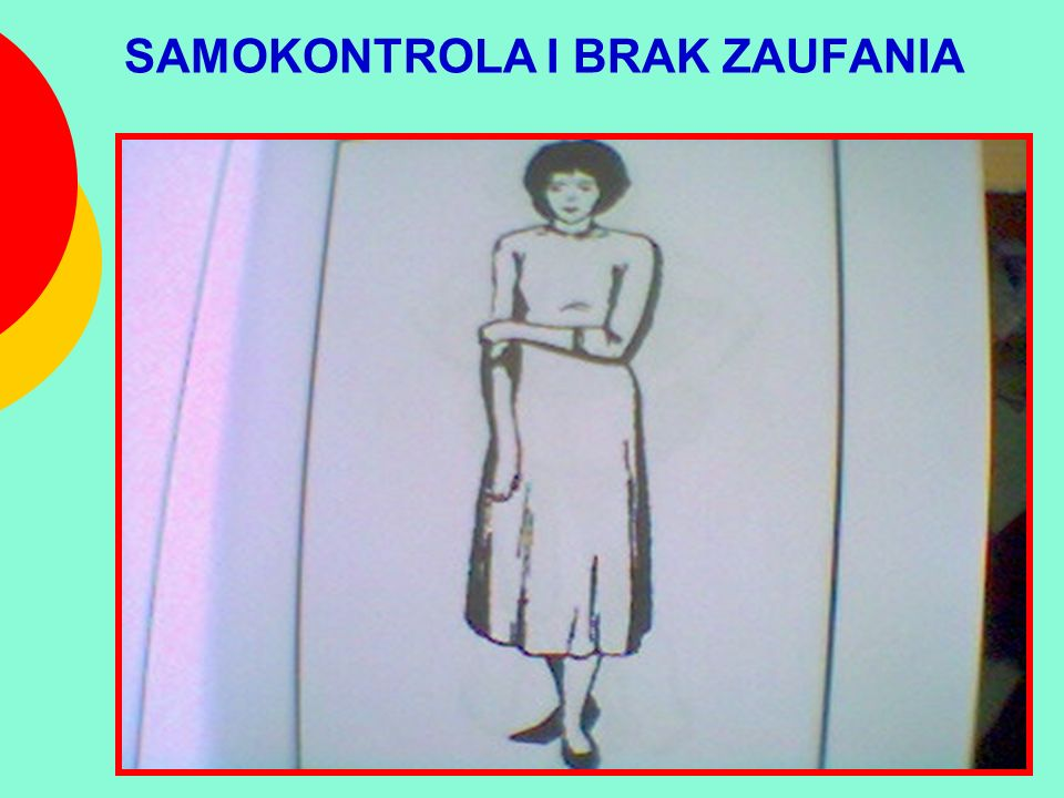 SAMOKONTROLA I BRAK ZAUFANIA