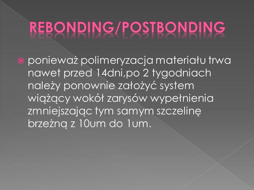 Rebonding/Postbonding