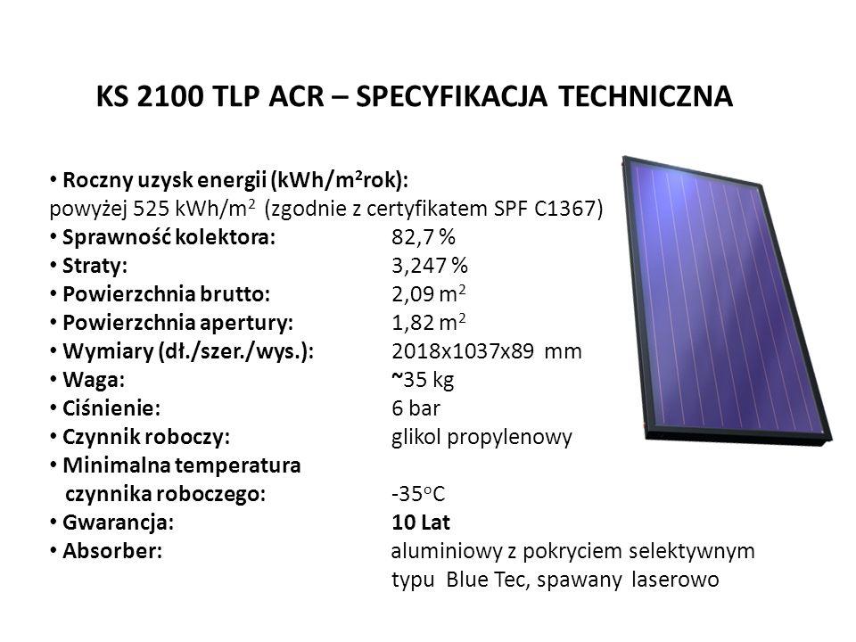 KS 2100 TLP ACR – SPECYFIKACJA TECHNICZNA