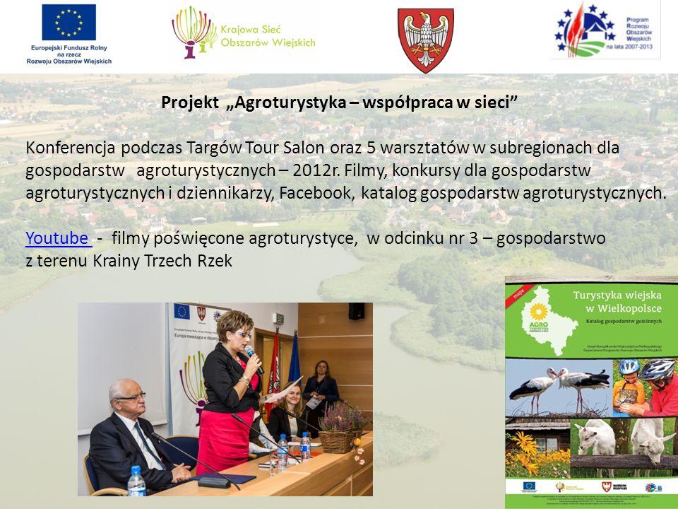 """Projekt """"Agroturystyka – współpraca w sieci"""