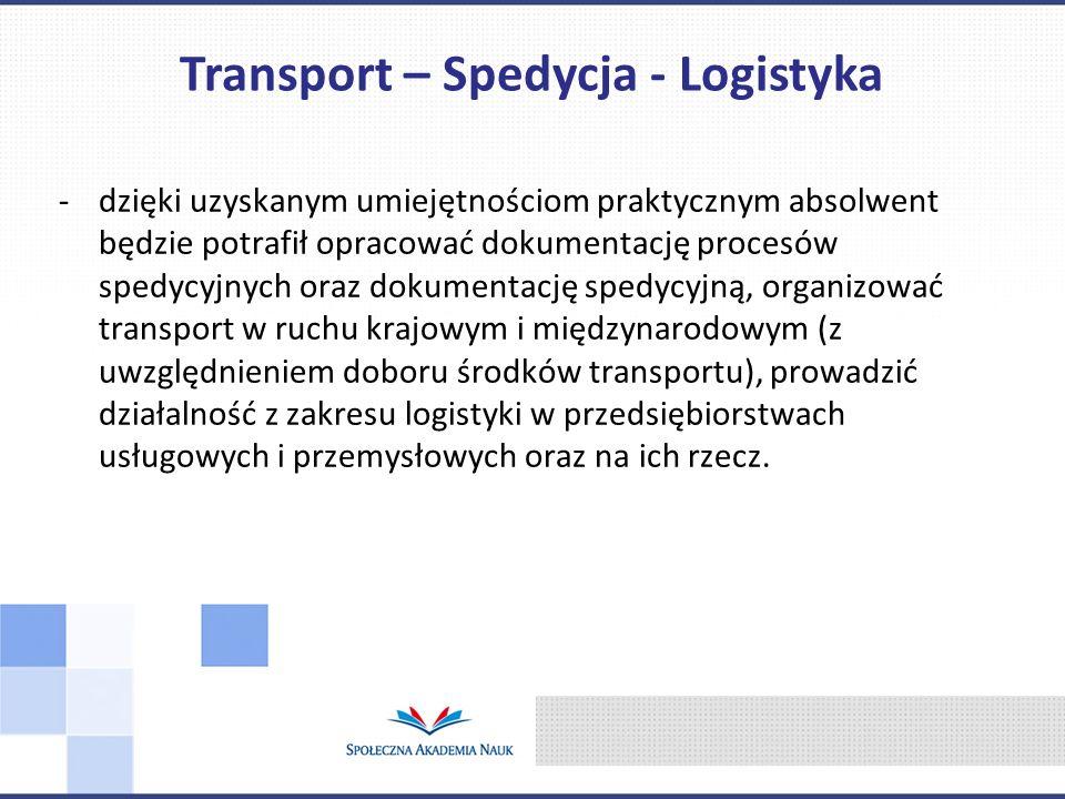 Transport – Spedycja - Logistyka