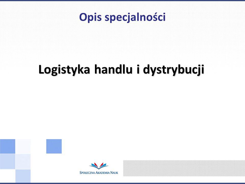 Logistyka handlu i dystrybucji