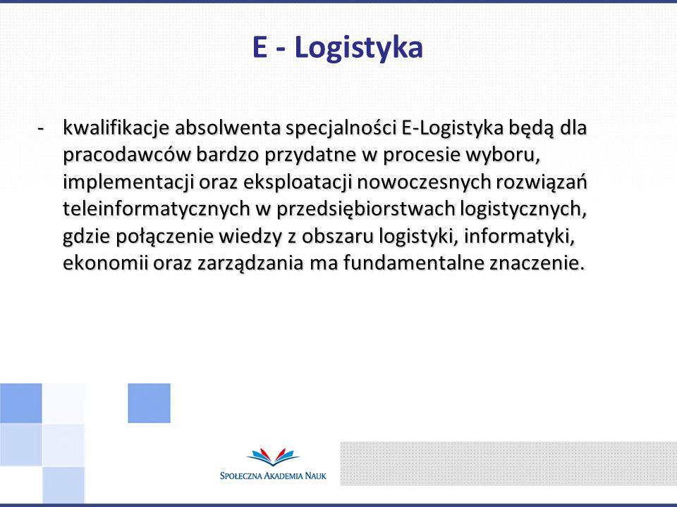 E - Logistyka
