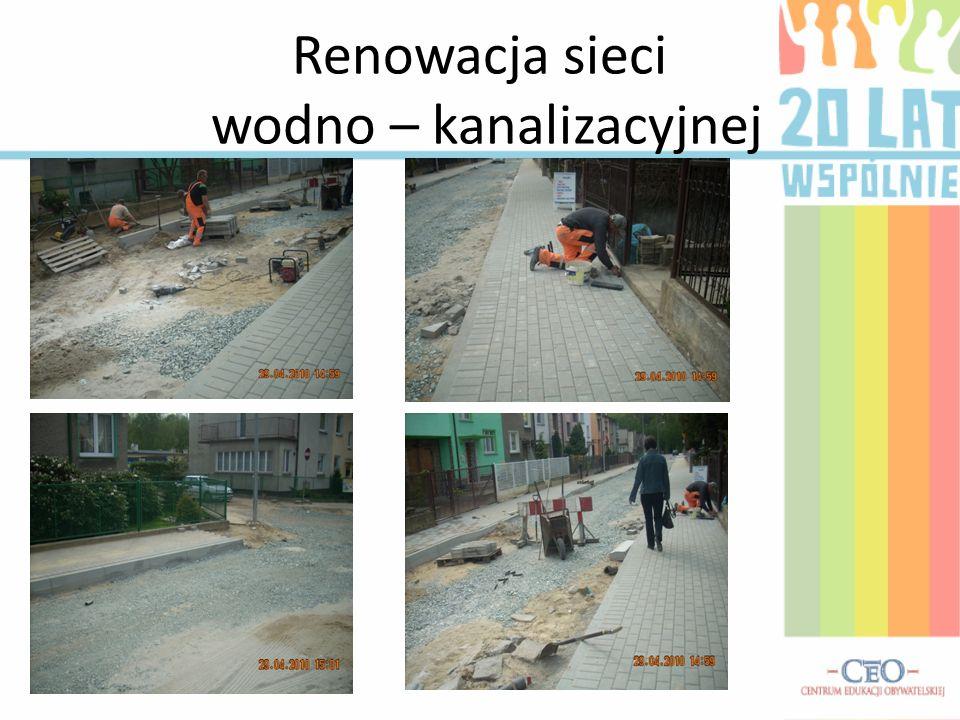 Renowacja sieci wodno – kanalizacyjnej