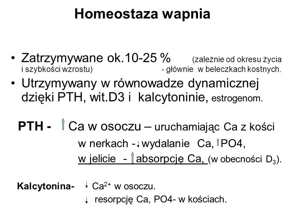 Homeostaza wapnia