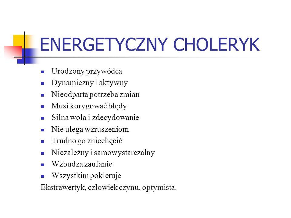 ENERGETYCZNY CHOLERYK