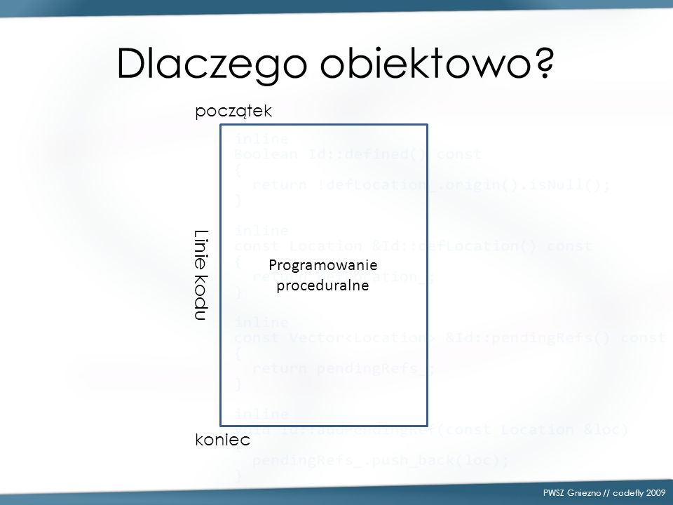 Programowanie proceduralne