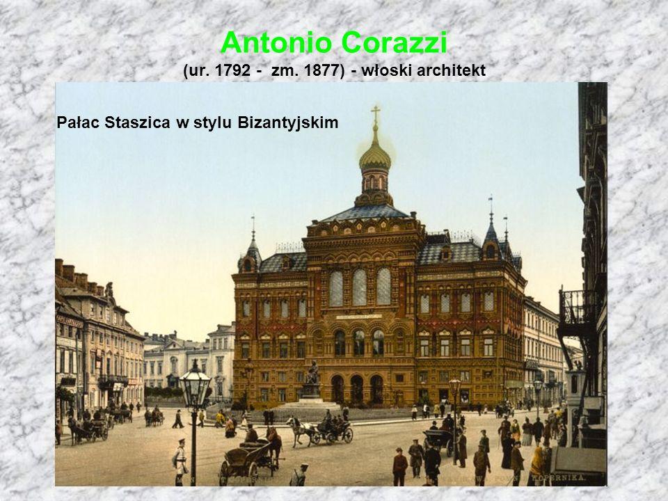 Antonio Corazzi (ur. 1792 - zm. 1877) - włoski architekt