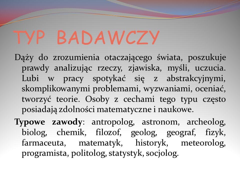 TYP BADAWCZY