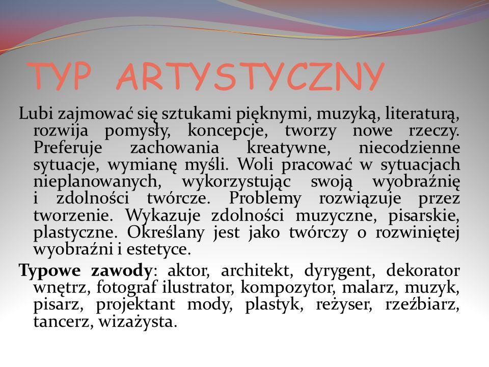 TYP ARTYSTYCZNY