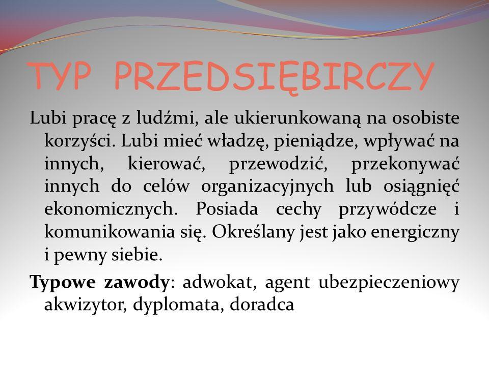TYP PRZEDSIĘBIRCZY