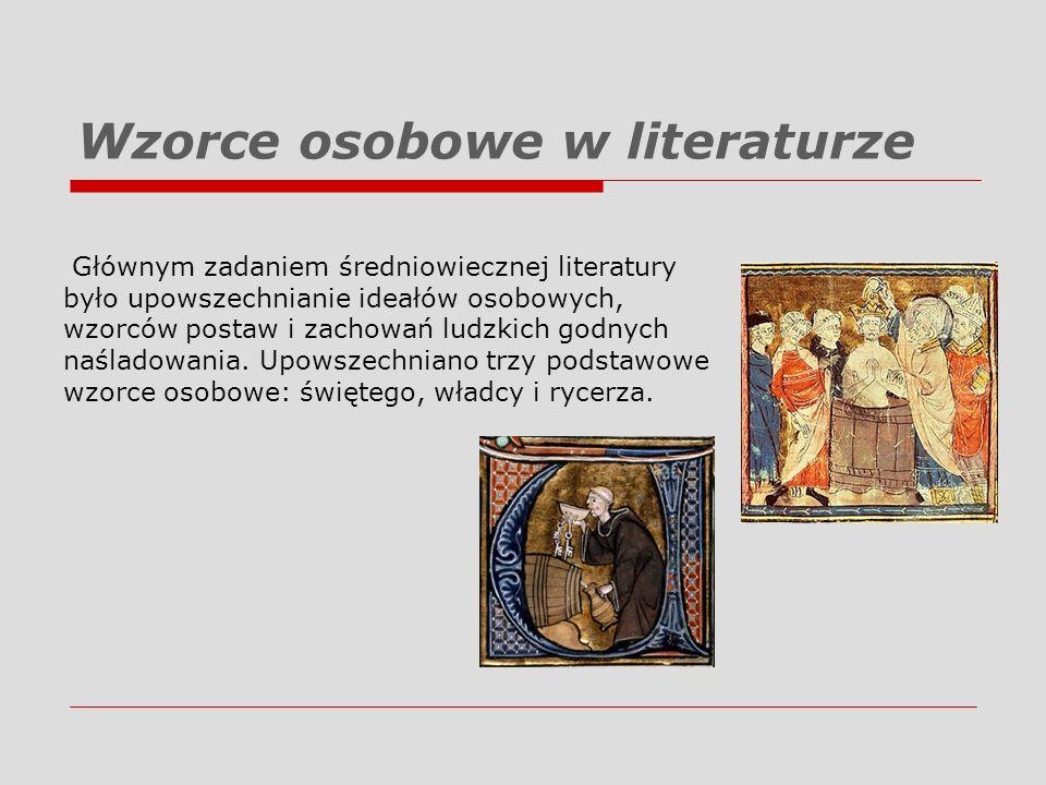 Wzorce osobowe w literaturze