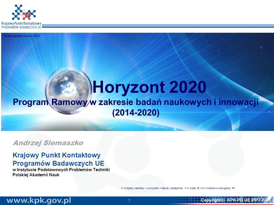 Program Ramowy w zakresie badań naukowych i innowacji (2014-2020)