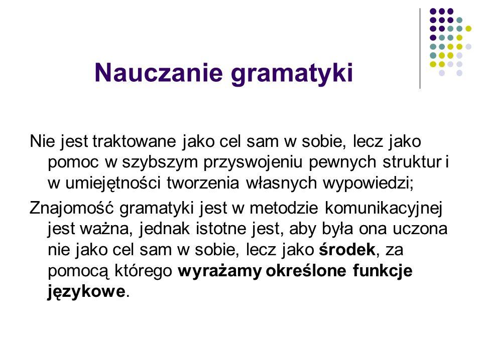 Nauczanie gramatyki