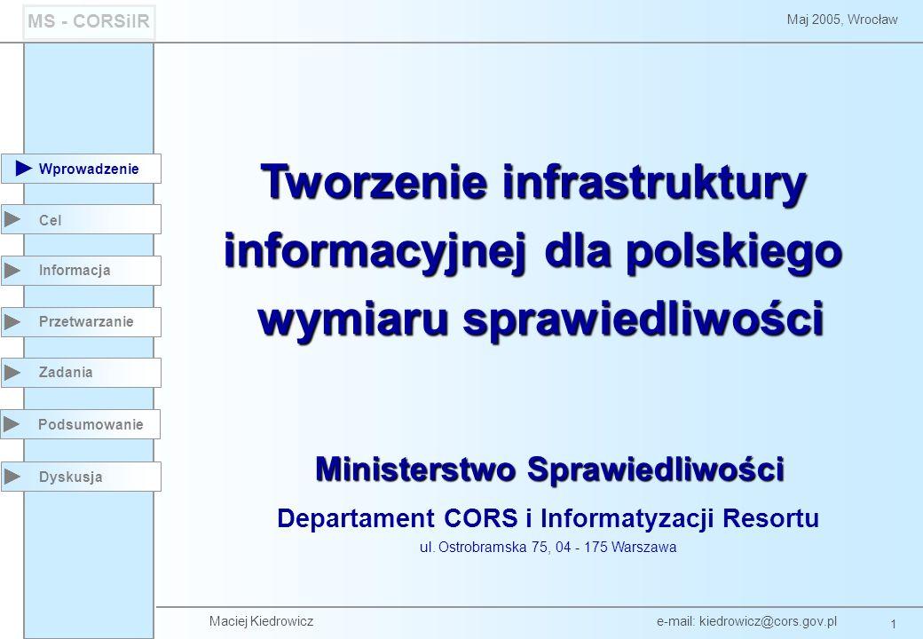 Tworzenie infrastruktury informacyjnej dla polskiego