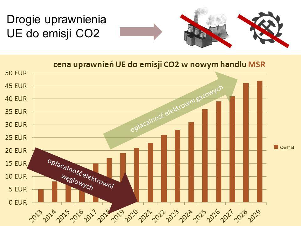 Drogie uprawnienia UE do emisji CO2