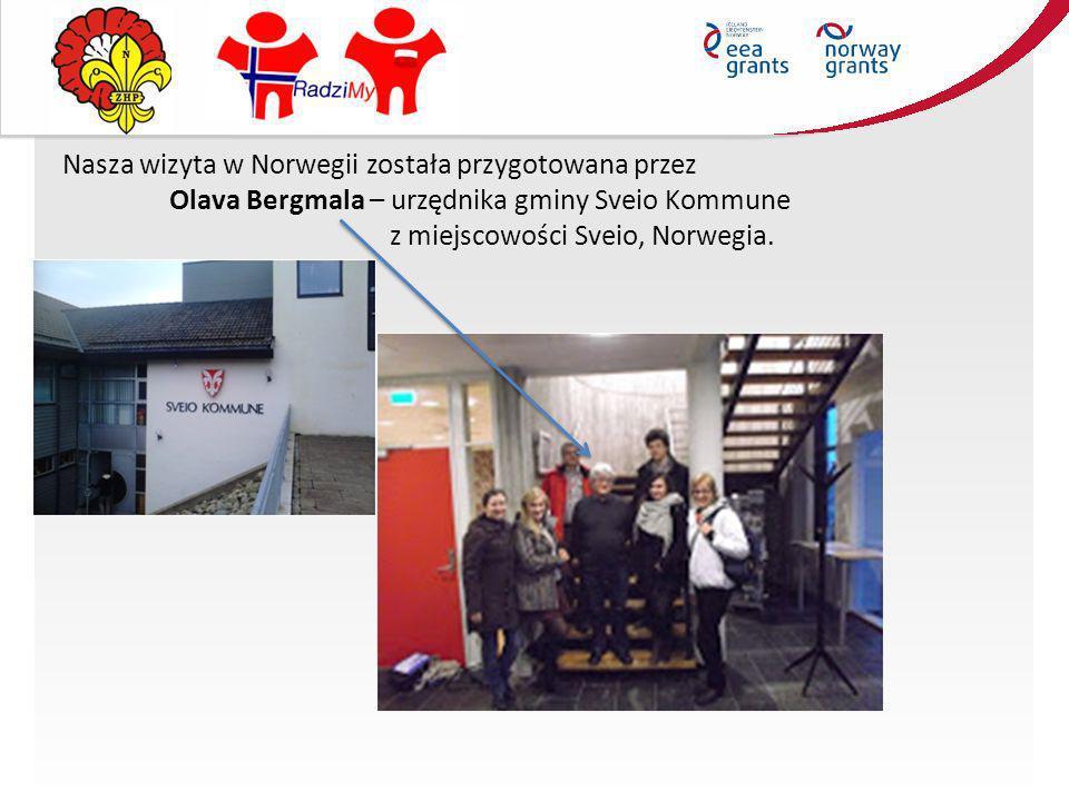 Nasza wizyta w Norwegii została przygotowana przez