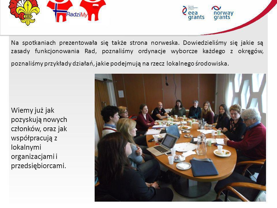 Na spotkaniach prezentowała się także strona norweska