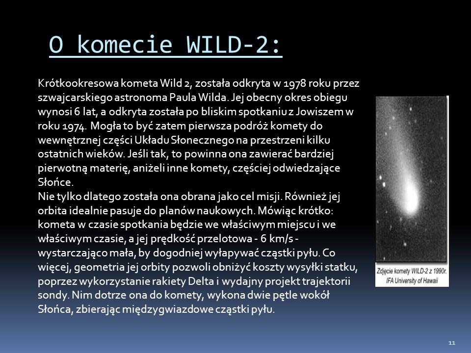 O komecie WILD-2:
