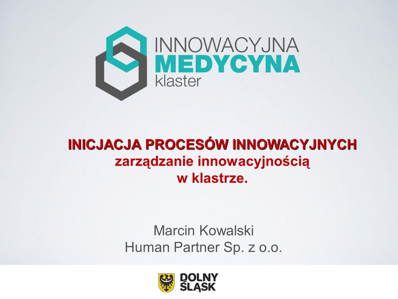 INICJACJA PROCESÓW INNOWACYJNYCH zarządzanie innowacyjnością
