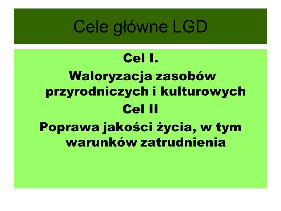 Cele główne LGD Cel I.