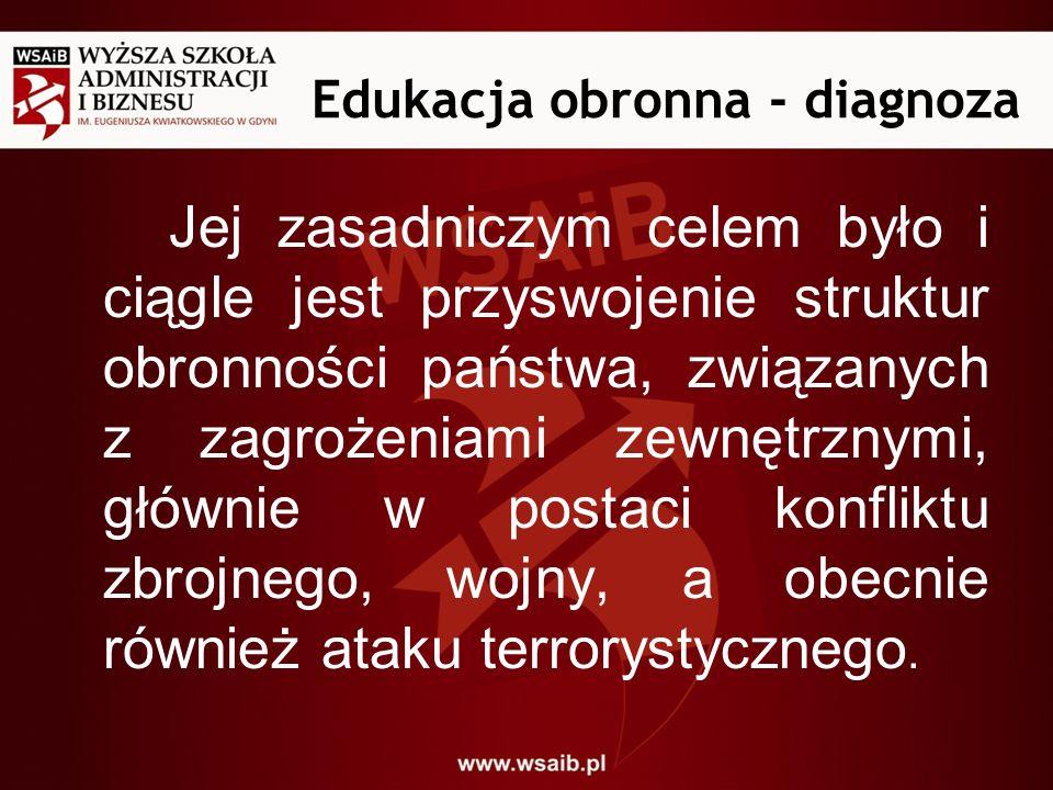 Edukacja obronna - diagnoza