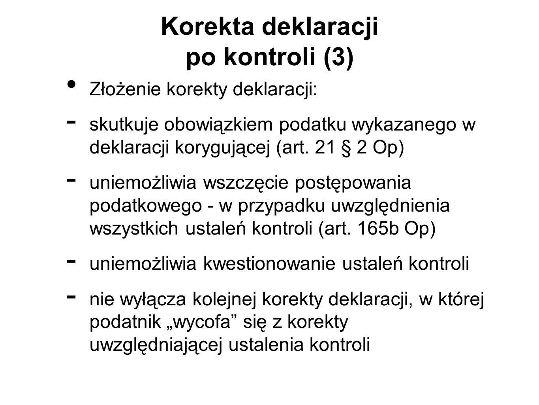 Korekta deklaracji po kontroli (3)