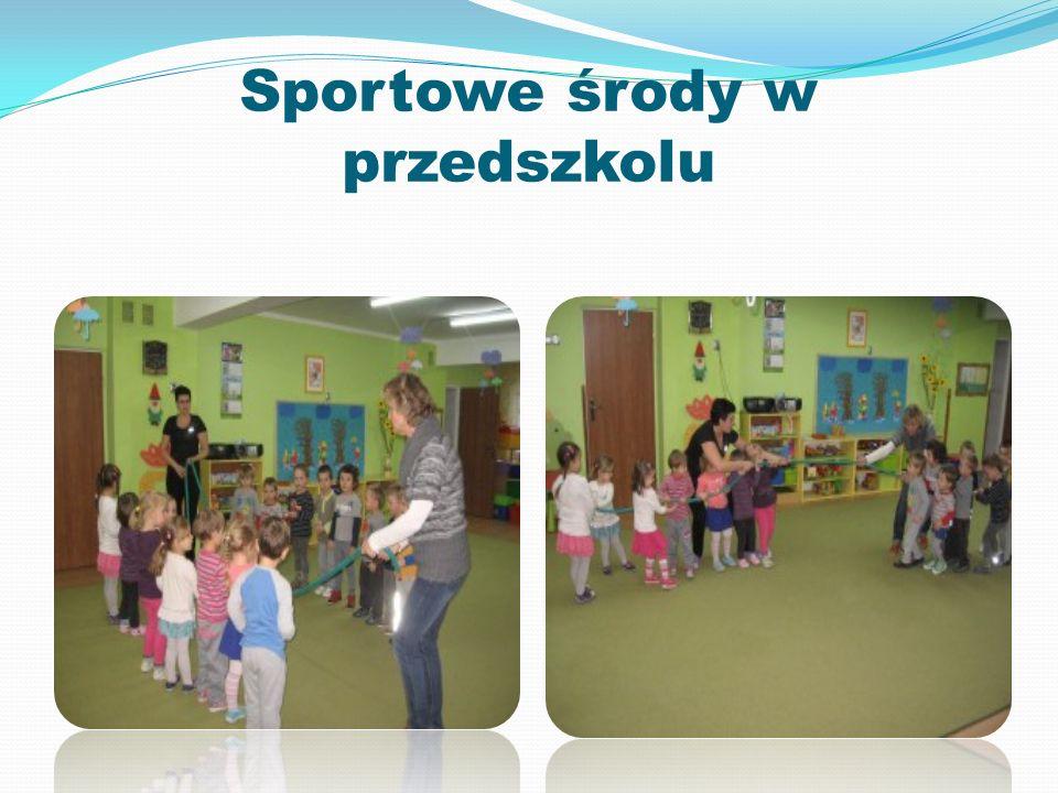 Sportowe środy w przedszkolu
