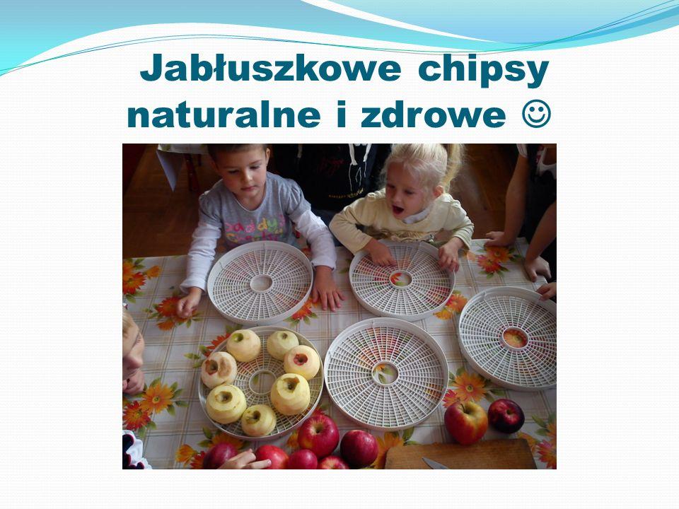 Jabłuszkowe chipsy naturalne i zdrowe 