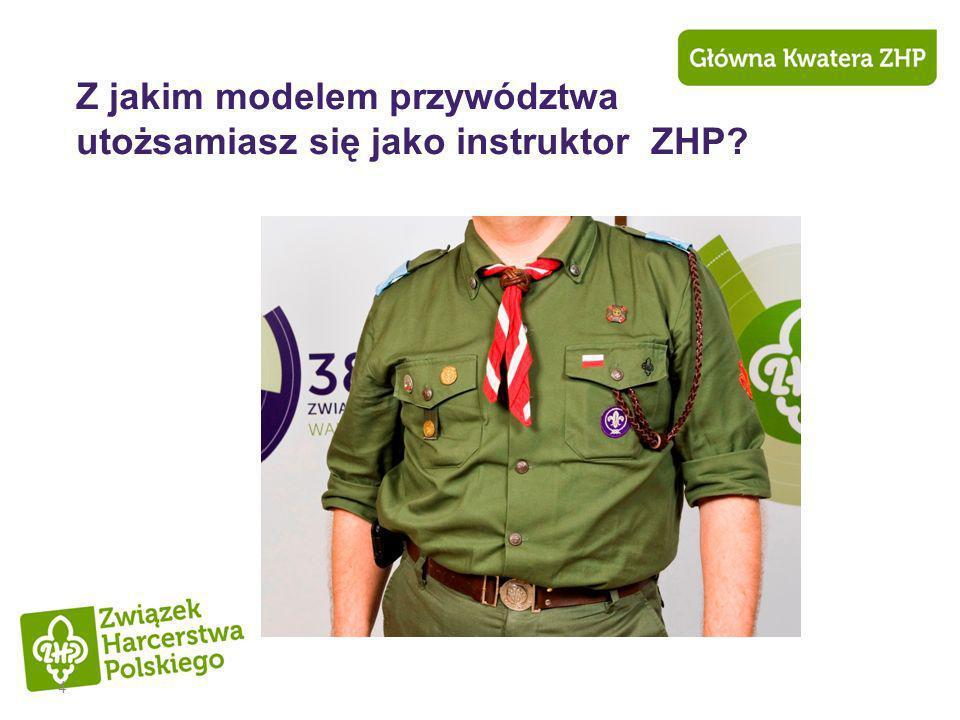 Z jakim modelem przywództwa utożsamiasz się jako instruktor ZHP
