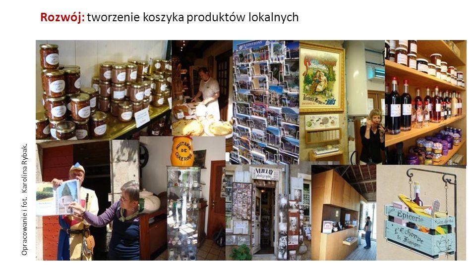Rozwój: tworzenie koszyka produktów lokalnych