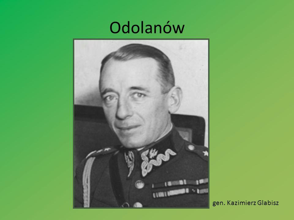 Odolanów gen. Kazimierz Glabisz