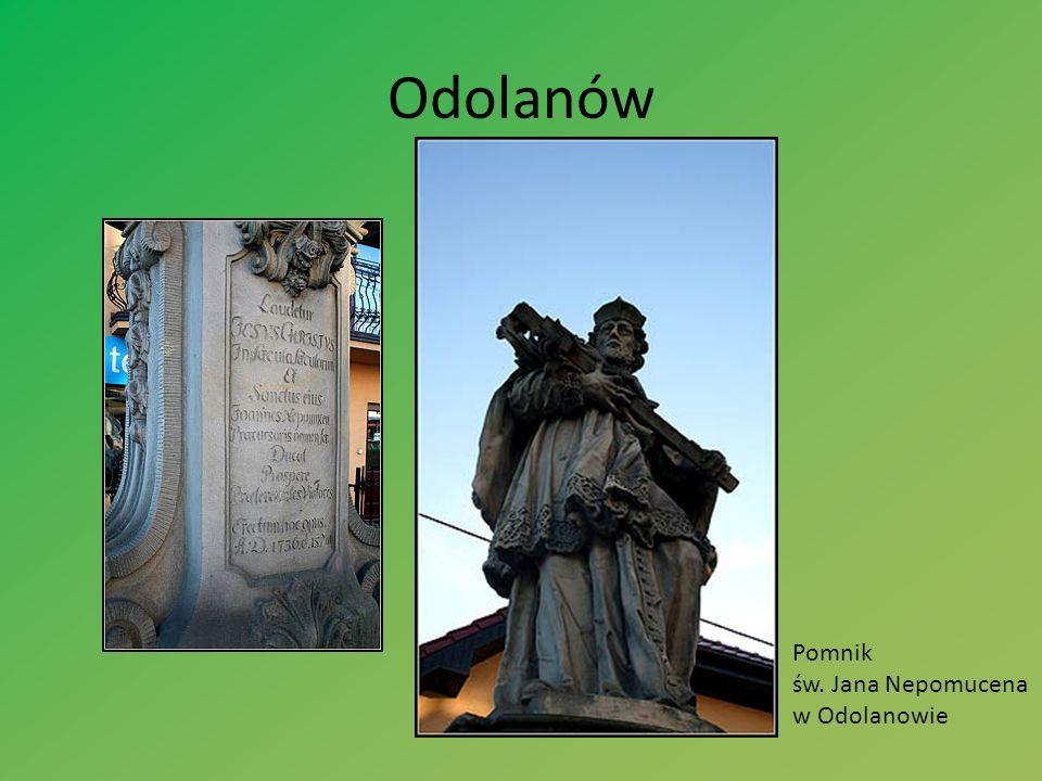 Odolanów Pomnik św. Jana Nepomucena w Odolanowie