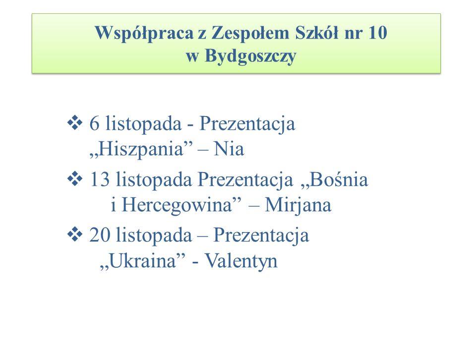Współpraca z Zespołem Szkół nr 10 w Bydgoszczy