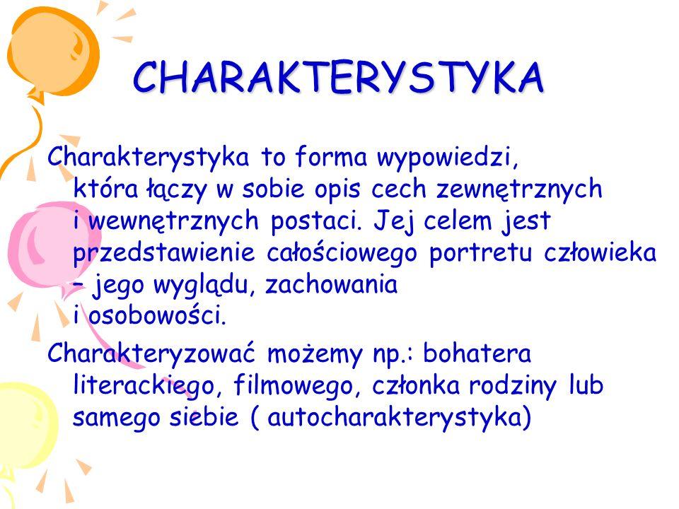 CHARAKTERYSTYKA