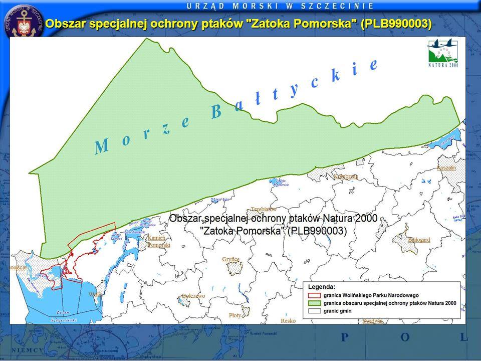 Obszar specjalnej ochrony ptaków Zatoka Pomorska (PLB990003)
