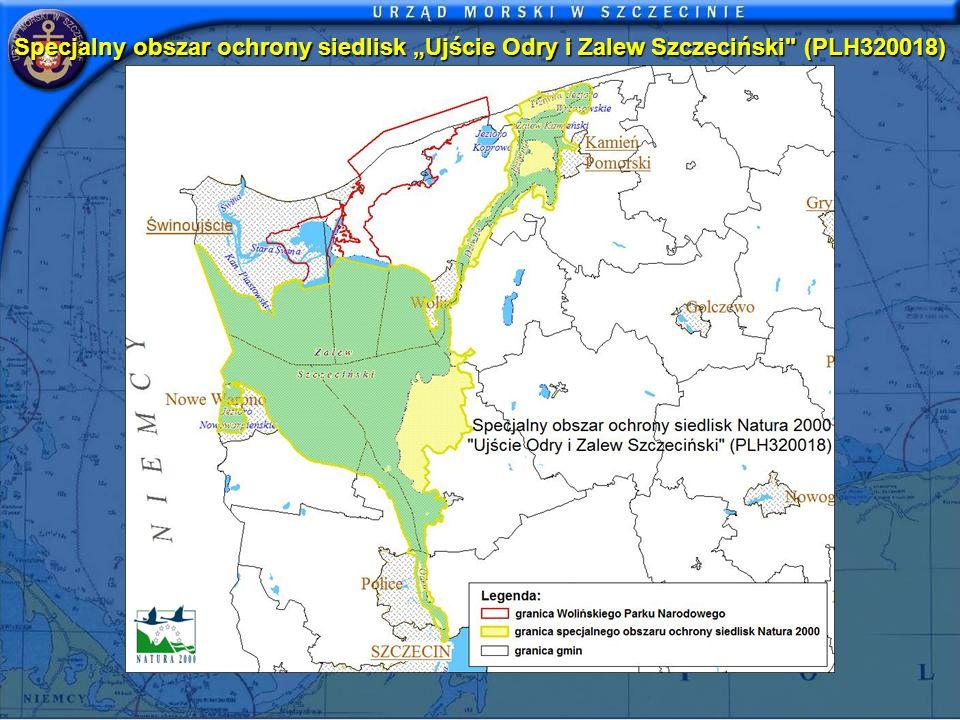 """Specjalny obszar ochrony siedlisk """"Ujście Odry i Zalew Szczeciński (PLH320018)"""