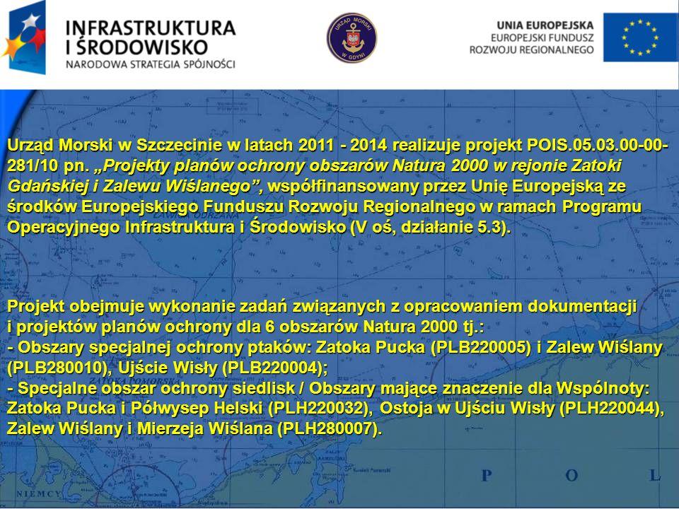 Urząd Morski w Szczecinie w latach 2011 - 2014 realizuje projekt POIS