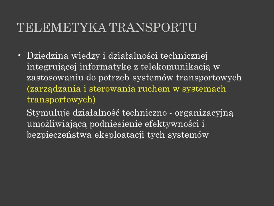 TELEMETYKA TRANSPORTU