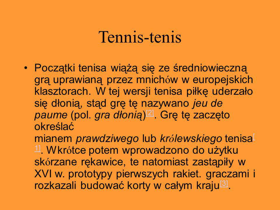 Tennis-tenis
