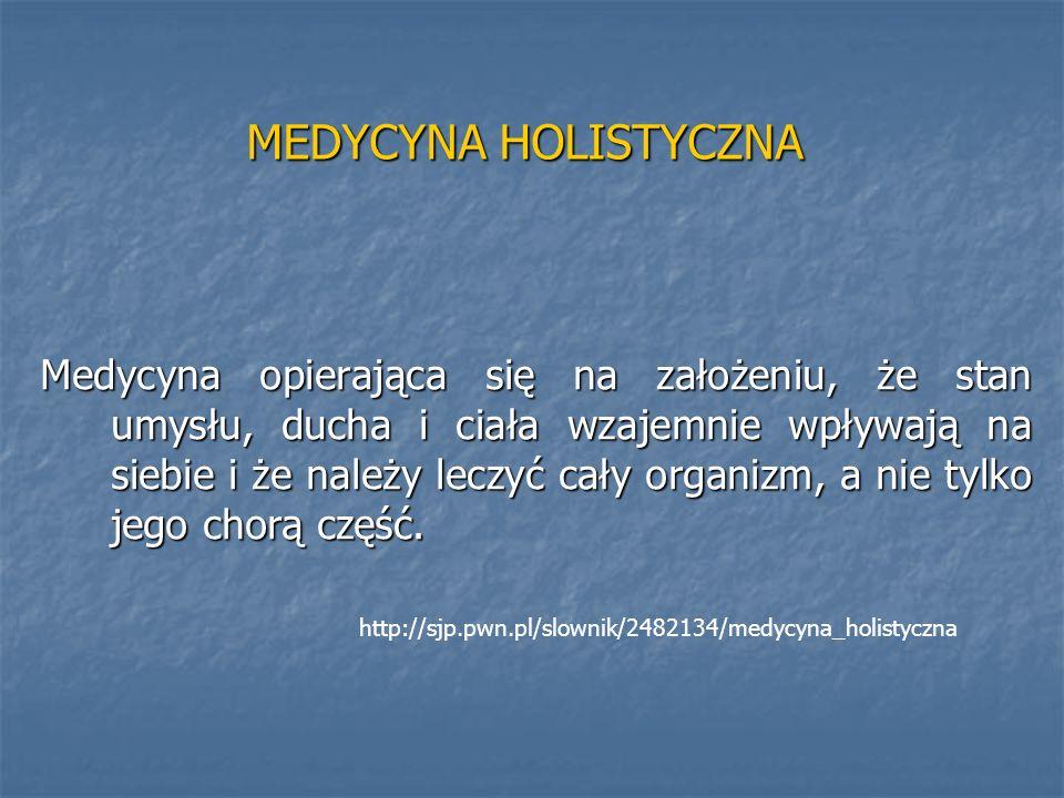 MEDYCYNA HOLISTYCZNA