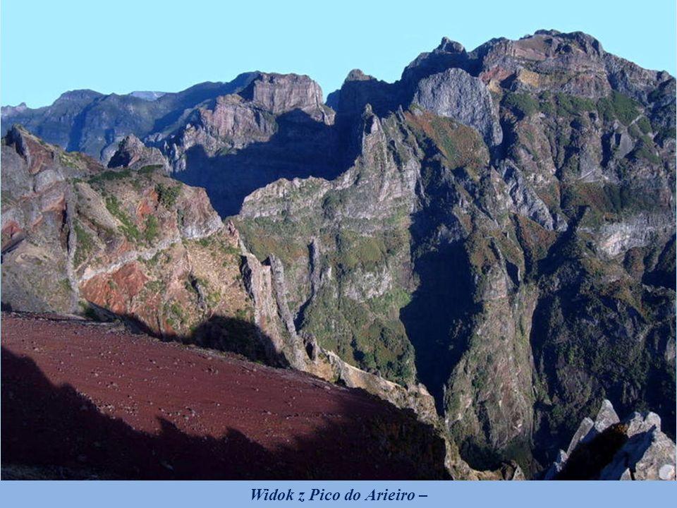 Widok z Pico do Arieiro –