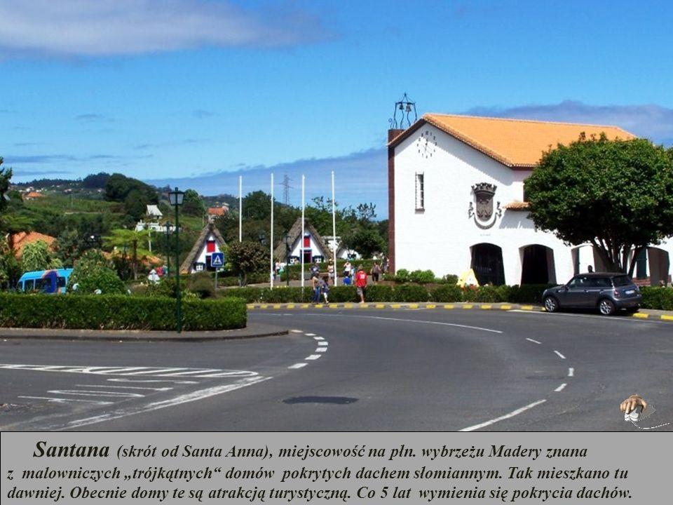 Santana (skrót od Santa Anna), miejscowość na płn