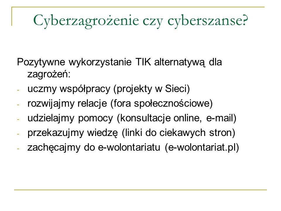 Cyberzagrożenie czy cyberszanse