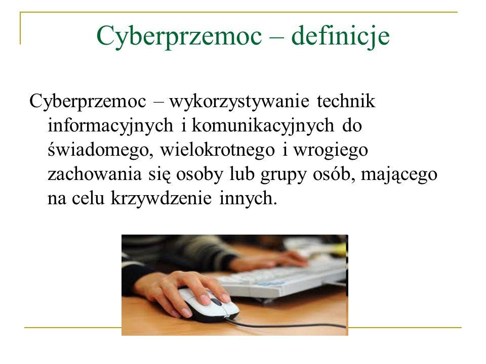 Cyberprzemoc – definicje